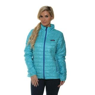 Patagonia Women's Nano Puff Howling Turqoise Jacket