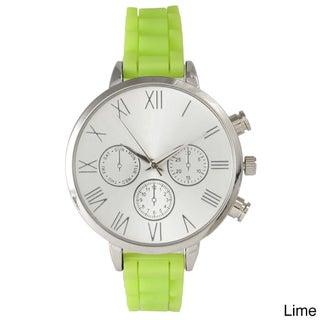 Olivia Pratt Skinny Silicone Classic Boyfriend Watch (More options available)