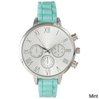 Olivia Pratt Skinny Silicone Classic Boyfriend Watch (2 options available)