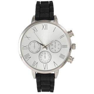 Olivia Pratt Skinny Silicone Classic Boyfriend Watch