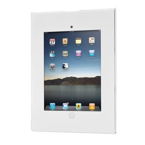 Pyle PSPADLKW06 Anti-theft Public Display Safe Lock and Secure Wall Mount iPad Holder Case