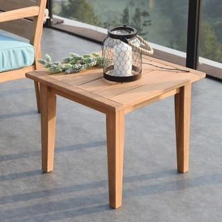Cambridge Casual Andrea Teak Side Table