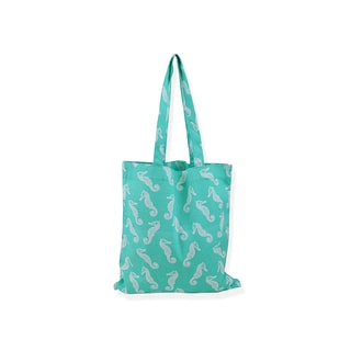 All For Color Sea Horse Carryall Tote Bag