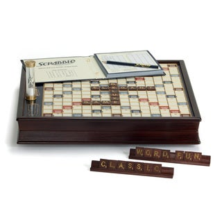 Scrabble Game Deluxe Wooden Edition