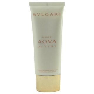 Bvlgari Aqva Divina 2.4-ounce Body Lotion