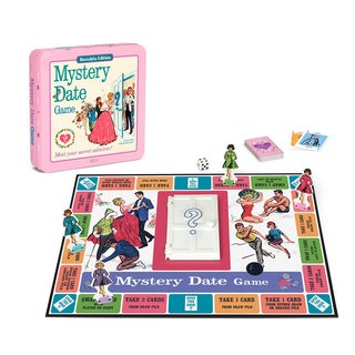 Mystery Date Board Game Nostalgia Edition Game Tin