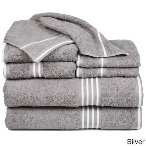 Windsor Home Rio 8 Piece Cotton Towel Set