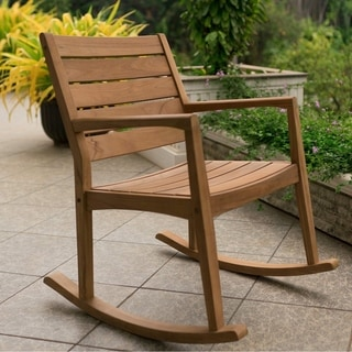 Cambridge Casual Andrea Teak Rocking Chair