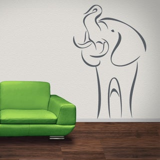 Abstract Elephant Wall Decal Sticker Mural Vinyl Decor Wall Art