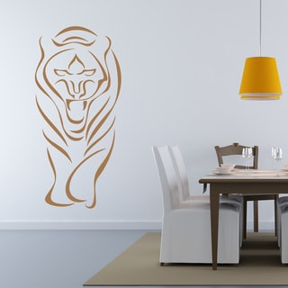 Link to Abstract Tiger Wall Decal Sticker Mural Vinyl Decor Wall Art Similar Items in Vinyl Wall Art
