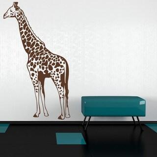 Giraffe II Wall Decal Sticker Mural Vinyl Decor Wall Art (More options available)