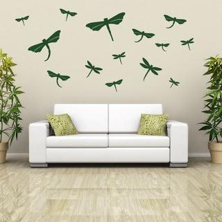 Link to Dragonfly Set Wall Decal Sticker Mural Vinyl Decor Wall Art Similar Items in Vinyl Wall Art