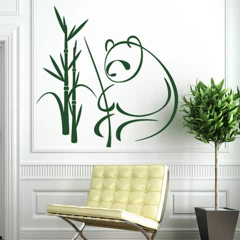 Panda Wall Decal Sticker Mural Vinyl Decor Wall Art