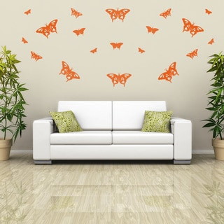 Butterflies Set Wall Decal Sticker Mural Vinyl Decor Wall Art