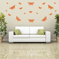 Butterflies Set Wall Decal Sticker Mural Vinyl Decor Wall Art