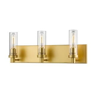 Z-Lite Persis 3-light Vanity Light in Satin Gold