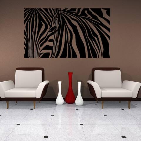 Zebra Stripes Wall Decal Sticker Mural Vinyl Decor Wall Art