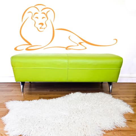 Abstract Lion Wall Decal Sticker Mural Vinyl Decor Wall Art