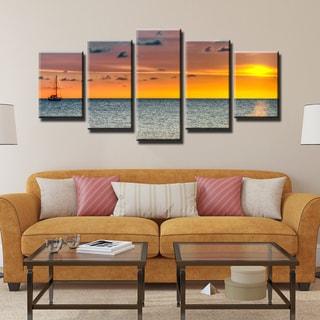 Ready2HangArt Bruce Bain 'Presence' 5-PC Canvas Art Set