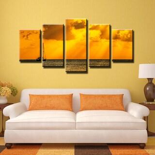 Ready2HangArt Bruce Bain 'Humble Horizon' 5-PC Canvas Art Set