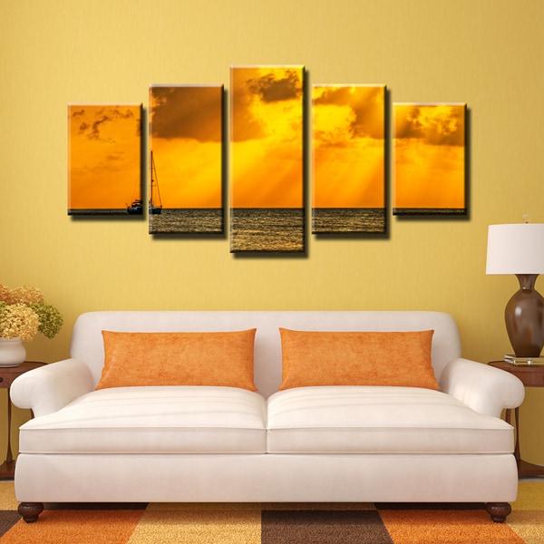 Ready2hangart Bruce Bain X27 Humble Horizon 5 Pc Canvas