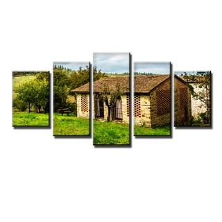Ready2HangArt Bruce Bain 'Tuscan Cottage' 5-PC Canvas Art Set