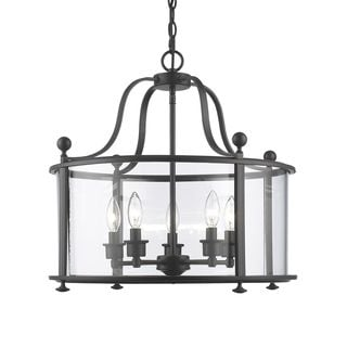 Z-Lite Wyndham 5-light Pendant in Bronze