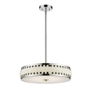 Z-Lite Sevier LED Pendant in Chrome
