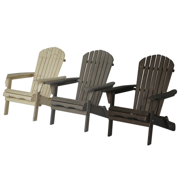 Villeret Folding Adirondack Chair   Free Shipping Today   Overstock.com    18182144