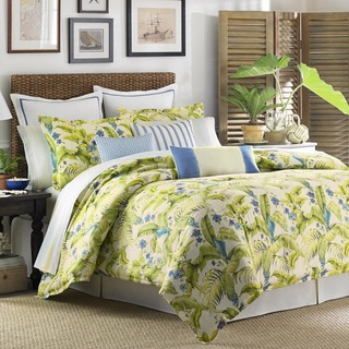Tommy Bahama Blue Palm 4-piece Comforter Set