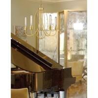 Z-Lite Persis 5-light Chandelier in Satin Gold