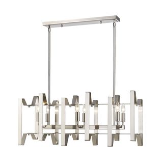 Z-Lite Marsala 6-light Island Light in Brushed Nickel
