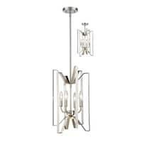 Avery Home Lighting Marsala 4-light Pendant in Brushed Nickel