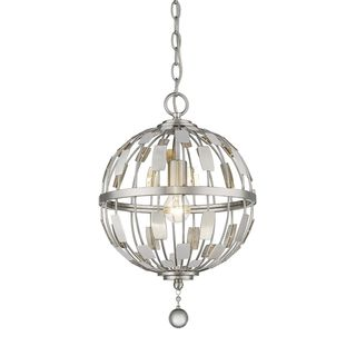 Z-Lite Almet 1-light Pendant in Brushed Nickel