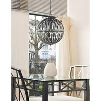 Z-Lite Almet 6-light Pendant in Bronze