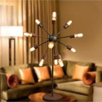 Celia 12-light Antique Bronze 30-inch Edison Table Lamp with Bulbs