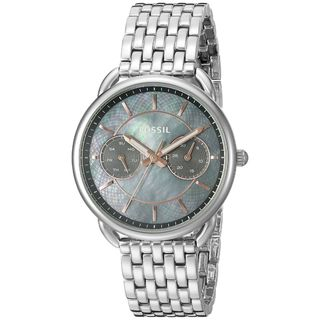 Fossil Women's ES3911 'Tailor' Multi-Function Stainless Steel Watch