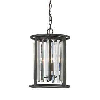 Z-Lite Monarch 3-light Chandelier in Bronze