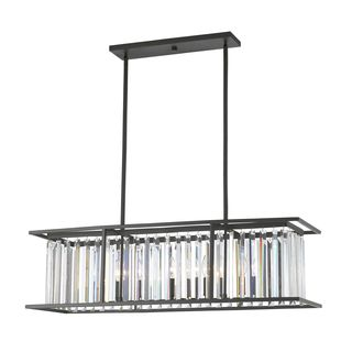 Z-Lite Monarch 6-light Pendant in Bronze