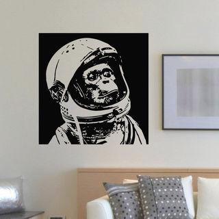 Astronaut Monkey Wall Art Sticker Decal