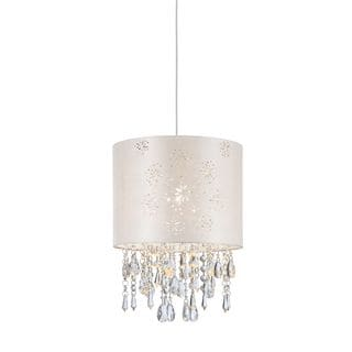 Z-Lite Lumi Glace Brushed Nickel 1-light Pendant