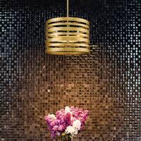 Avery Home Lighting Memphis 3-light Pendant in Satin Gold