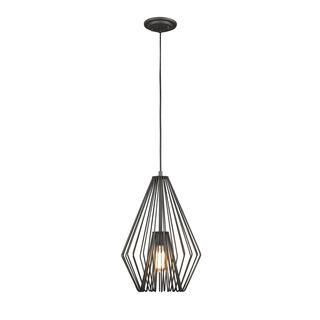 Z-Lite Quintus 1-light Mini Pendant in Bronze