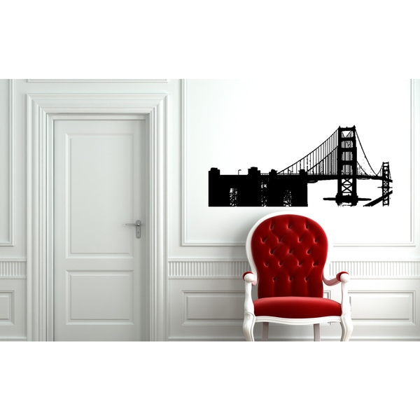 Shop San Francisco Wall Art Sticker Decal - Free Shipping On Orders ...