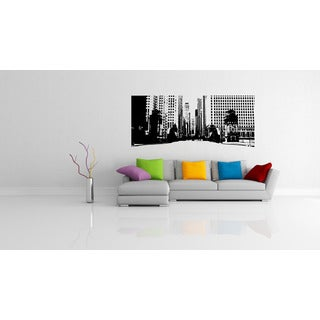Chicago City Streets Prospect Wall Art Sticker Decal