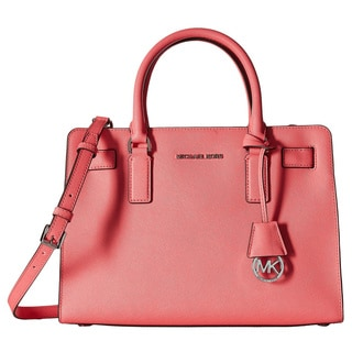Michael Kors Dillon Coral East/West Satchel Handbag