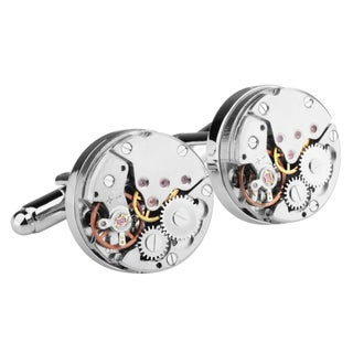 Zodaca Mens Silver Gear Watch Movement Steampunk Vintage Cufflinks|https://ak1.ostkcdn.com/images/products/11191374/P18182718.jpg?_ostk_perf_=percv&impolicy=medium