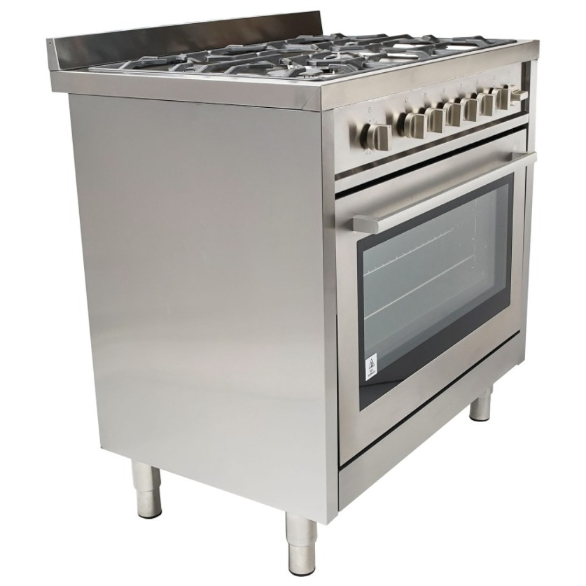 Cosmo COS-965AGF 36-inch Gas Range with 5 Italian Made St...