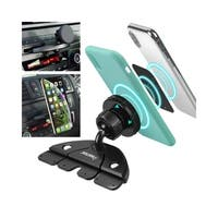 Insten Black Universal Car CD Slot Phone Magnetic Holder