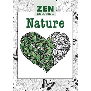 Guild Of Master Craftsman Books Zen Coloring Nature